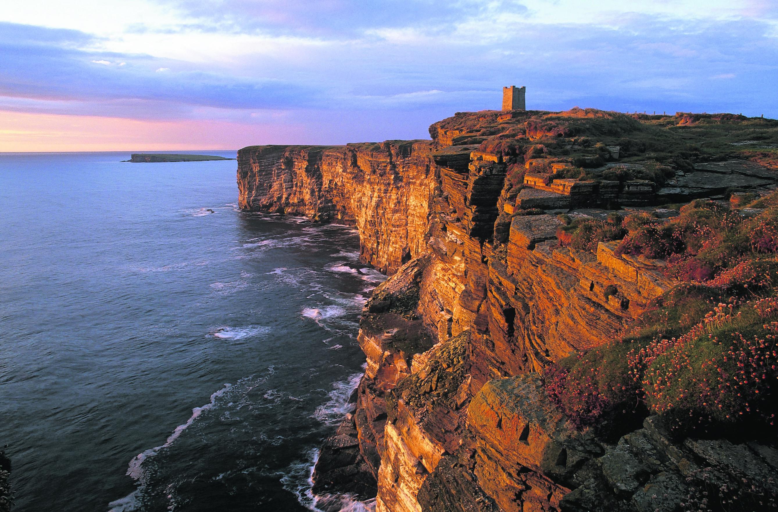 Marwick cliffs, Orkney