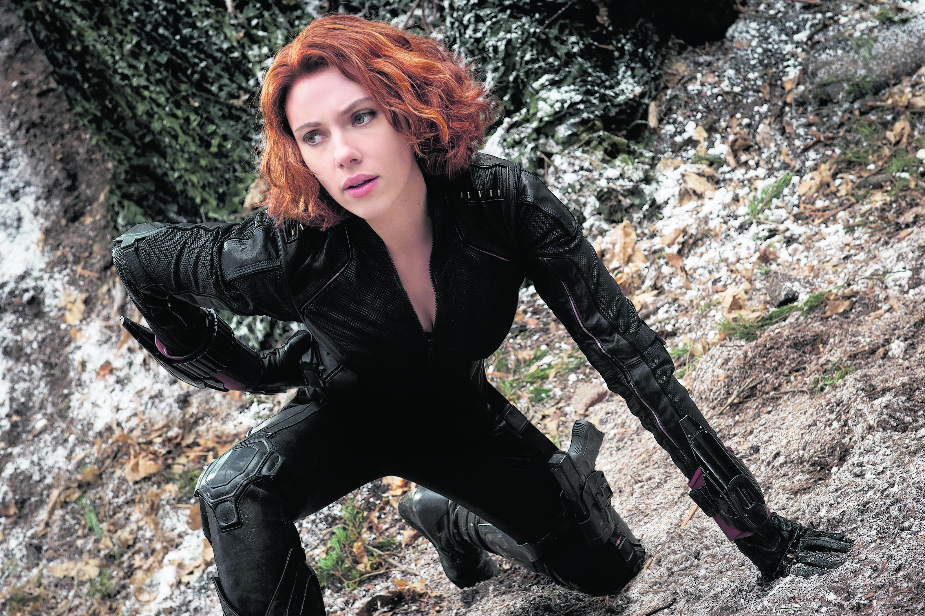 Scarlett Johansson as Black Widow in Avengers: Age Of Ultron
