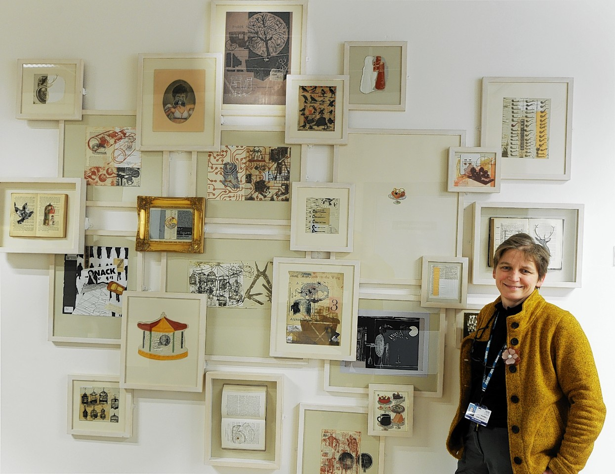 Sally Thomson, director of Grampian Hospitals Art Trust