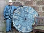 Auchenblae clock ready for repairs