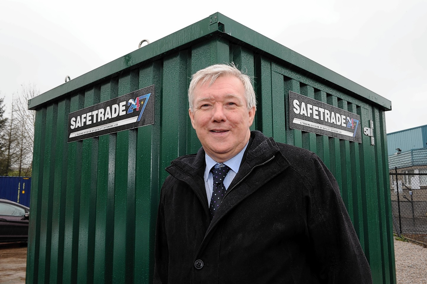 Bill Cheyne, Commercial Development Manager of SafeTrade 247