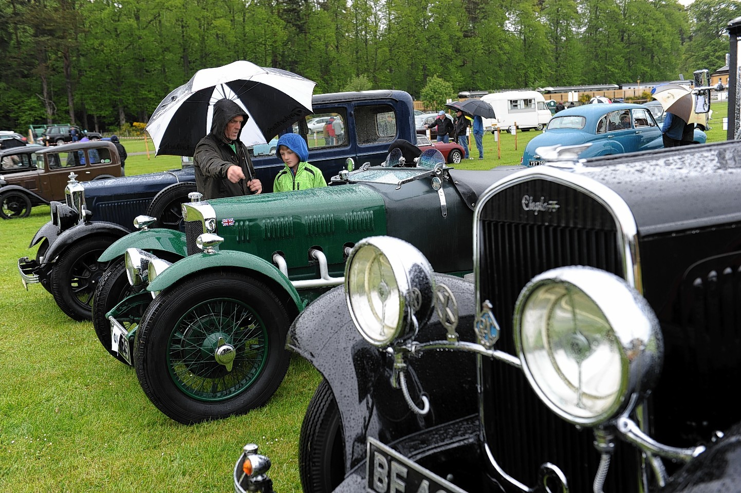Crathes Vintage Car and Motorcycle Rally 2015