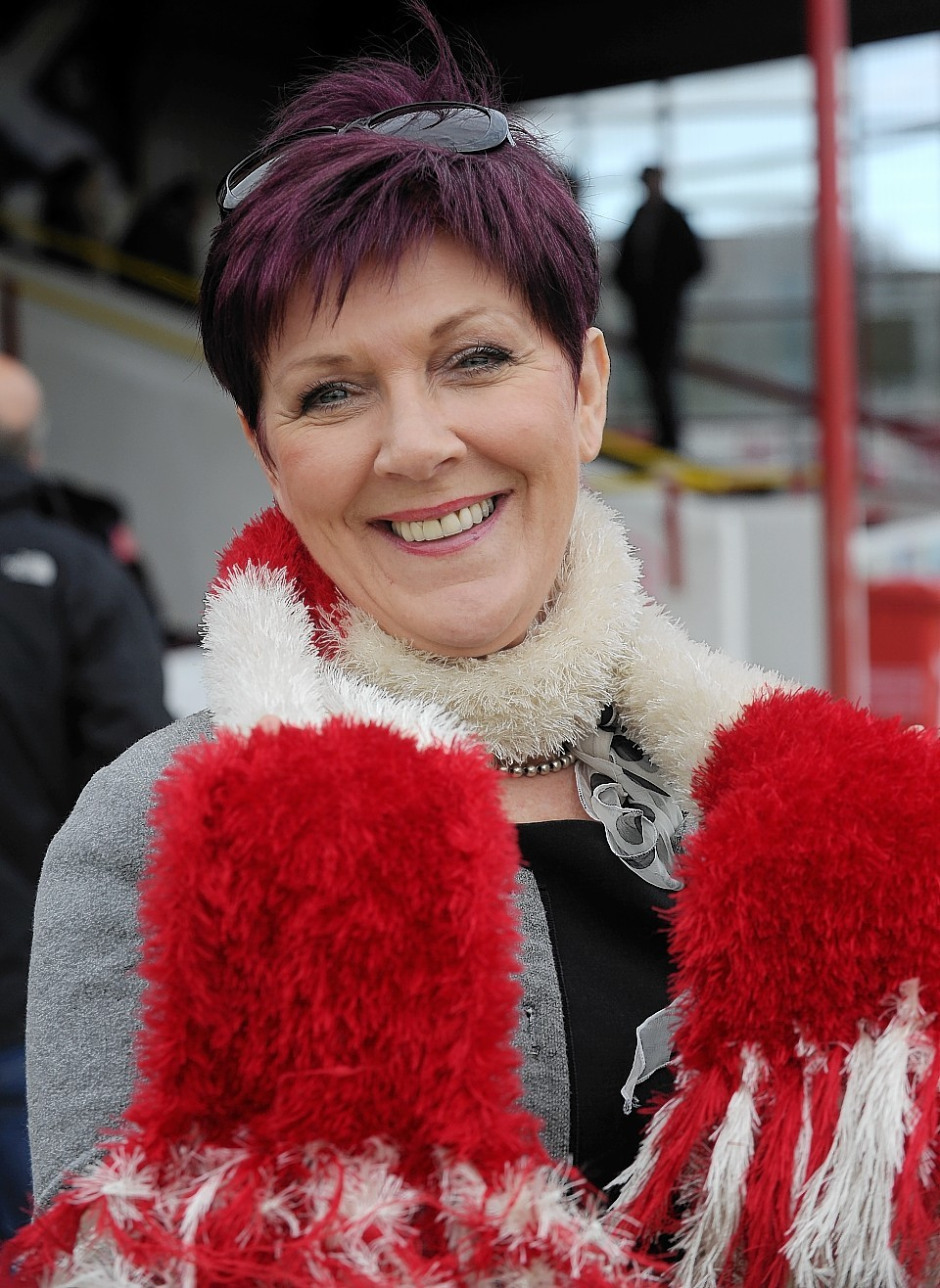 Club stalwart Deirdre  Mackay relishes the prospect of Brora's promotion.