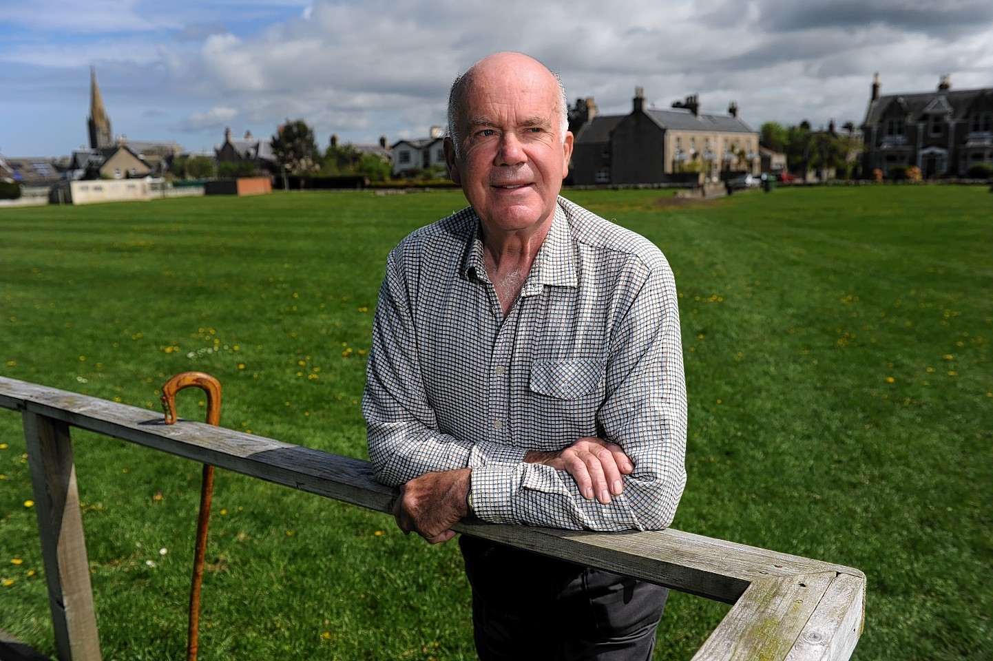Community council chairman Dick Youngson.