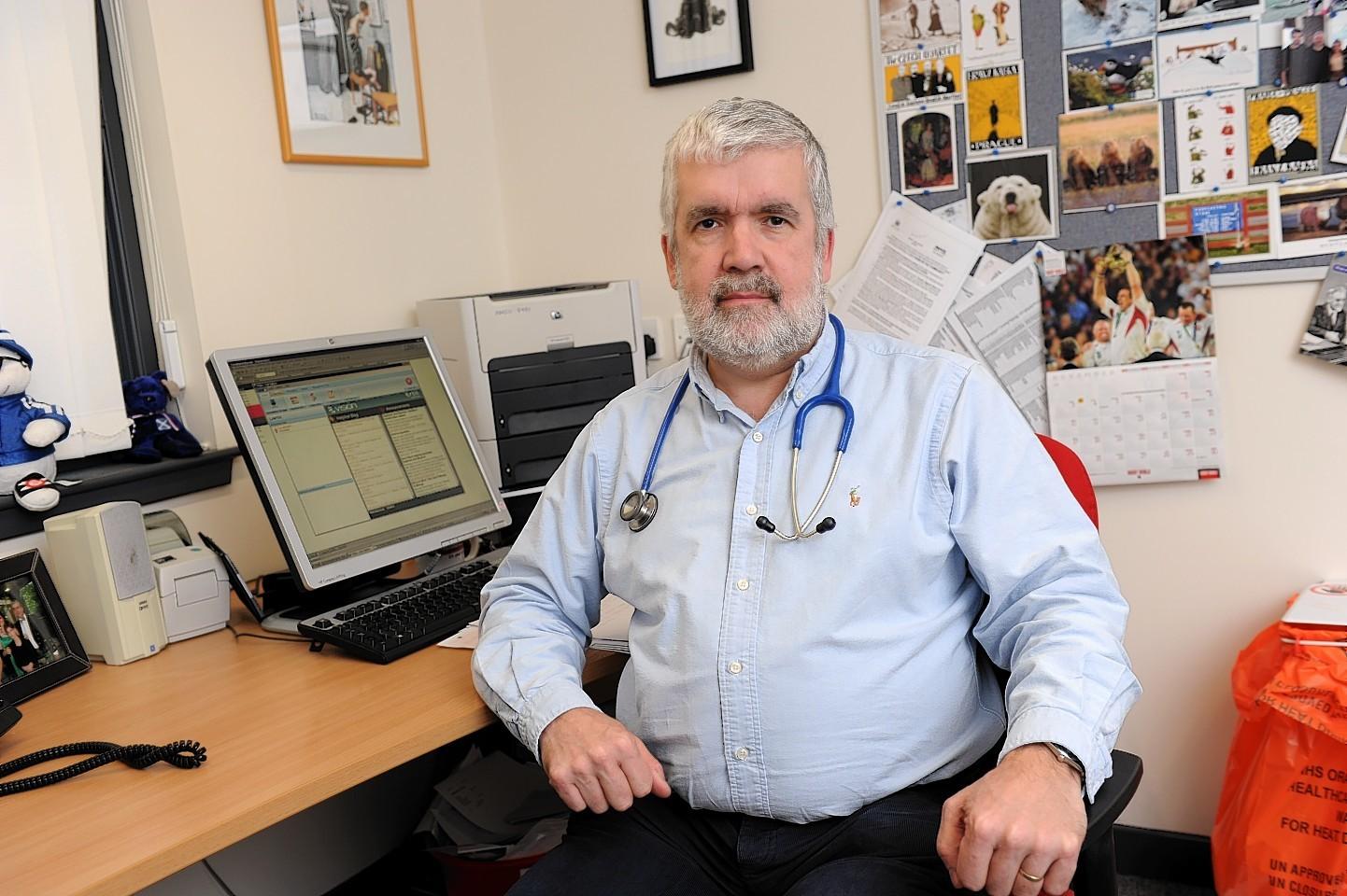 Dr Ken Lawton. (Picture: Kenny Elrick)