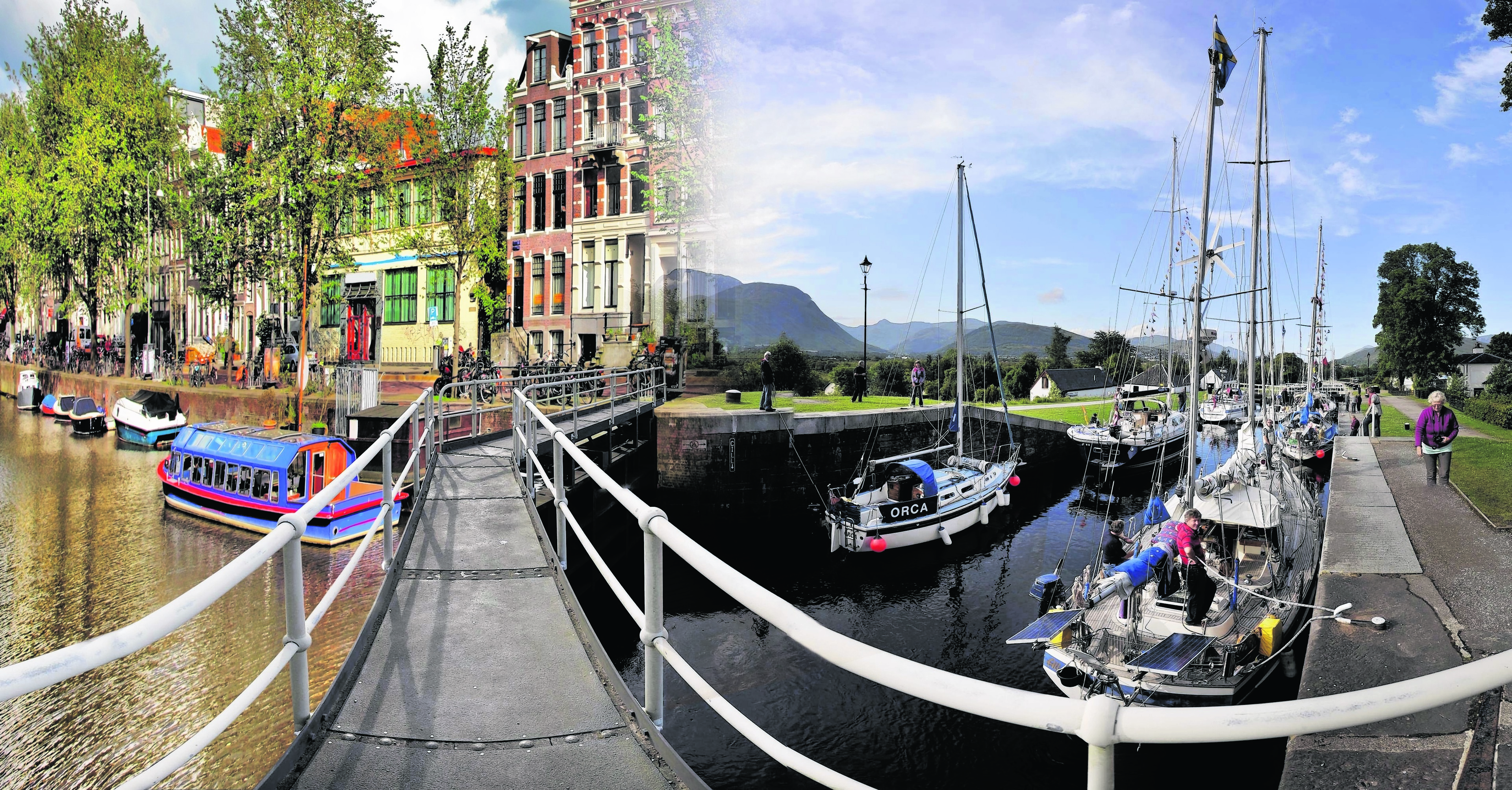 NHS bosses are hoping to convince Dutch doctors to swap the canals of Amsterdam for those in the north of Scotland