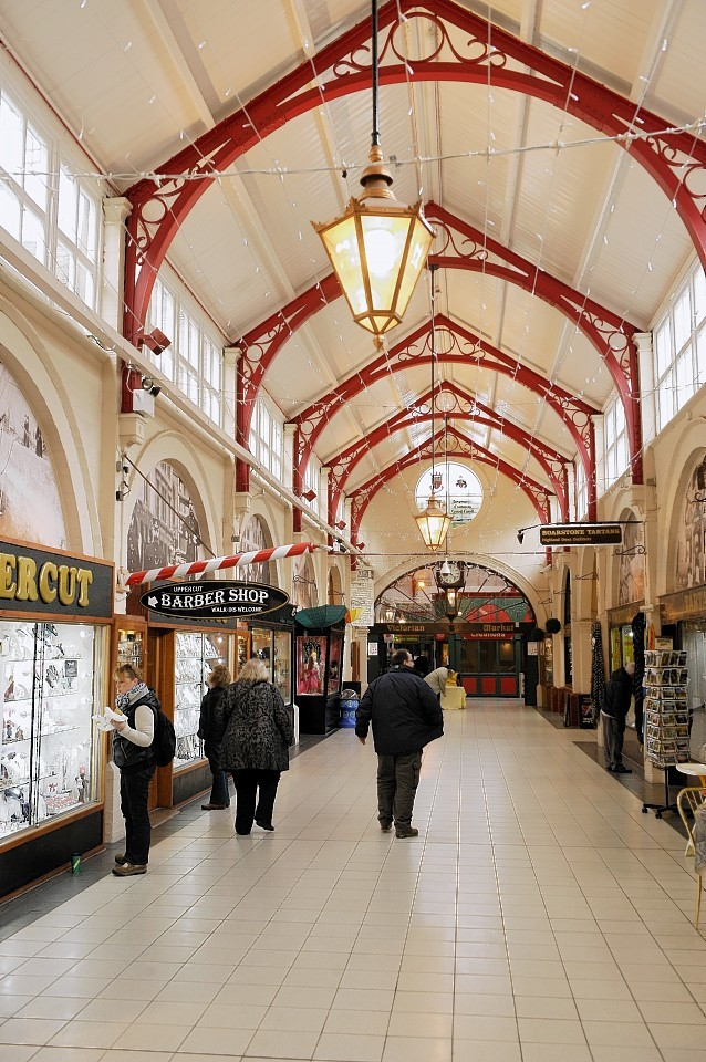 The Victorian Market in Inverness