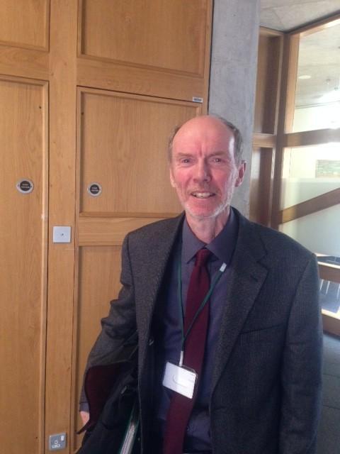 Highland campaigner James Treasurer.