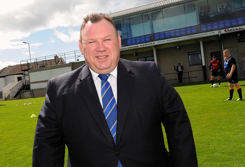 Cove Rangers chairman Keith Moorhouse