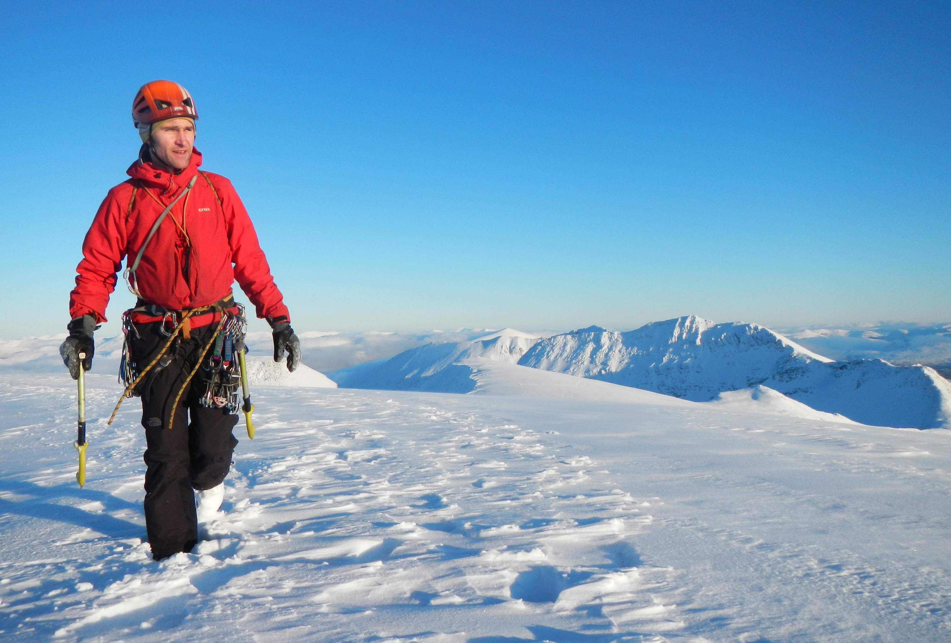 Inverness climber takes on student mountain safety role | Press and ...