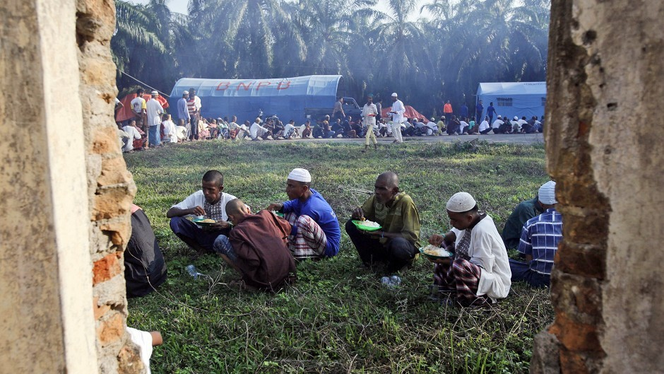 Thousands of Rohingya migrants have fled persecution in Myanmar