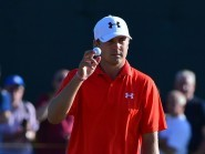 Jordan Spieth is one of four players who lead the Crowne Plaza Invitational after Thursday's first round