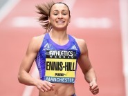 Jessica Ennis-Hill returned to action in Manchester on Saturday
