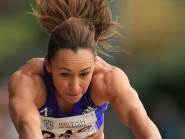 Jessica Ennis-Hill competed in long jump and javelin events over the weekend