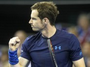 Andy Murray is through to a second consecutive ATP final
