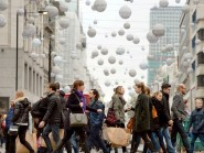 Retail figures have fuelled optimism on the high street