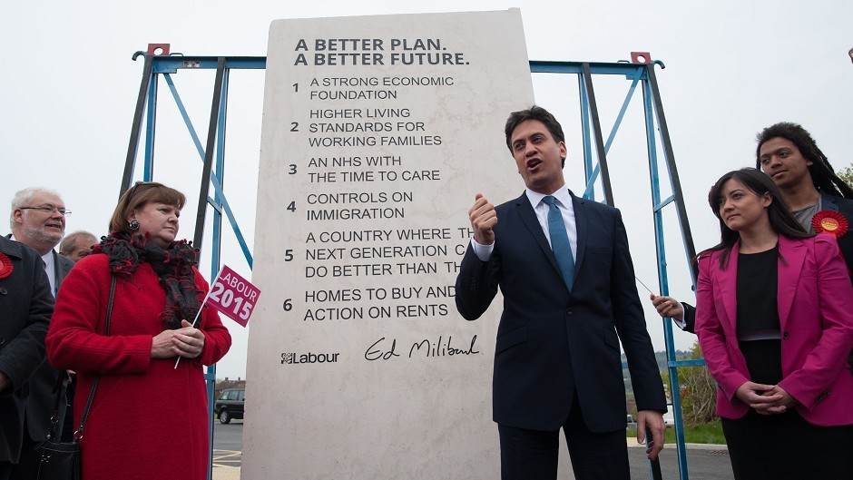 Ed Miliband's stone was ridiculed by many