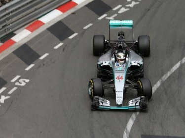 It's a first for Lewis Hamilton as he takes pole position for Sunday's Monaco Grand Prix