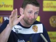 Ian Baraclough wants Motherwell to silence Ibrox in Thursday's first-leg clash