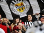 St Mirren fans have recognised the bravery of a very young player