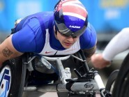David Weir narrowly missed out on becoming the first sub-three minute miler