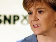 """Nicola Sturgeon said the SNP """"will always vote for the NHS to have the money it needs"""""""