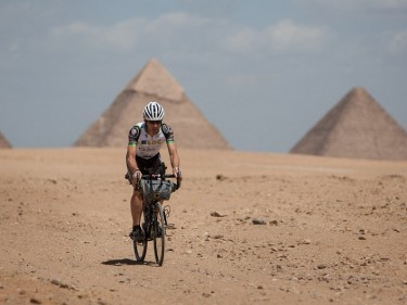 Mark Beaumont is the fastest rider to cycle the length of Africa (Jeremy Sutton-Hibbert/PA)