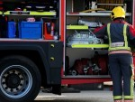 Firefighters tackled a fire near Muir of Ord