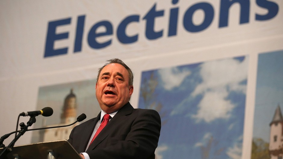 "Alex Salmond believes the appointment of a Tory Scottish secretary would be an ""insult to the country"""