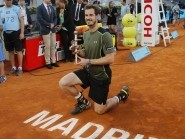 Andy Murray continued his fine form on clay by winning the Mutua Madrid Open title (AP)