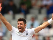 James Anderson made early inroads into the West Indies batting