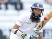 Moeen Ali, pictured, scored 58 and saw Alastair Cook make a much-needed hundred