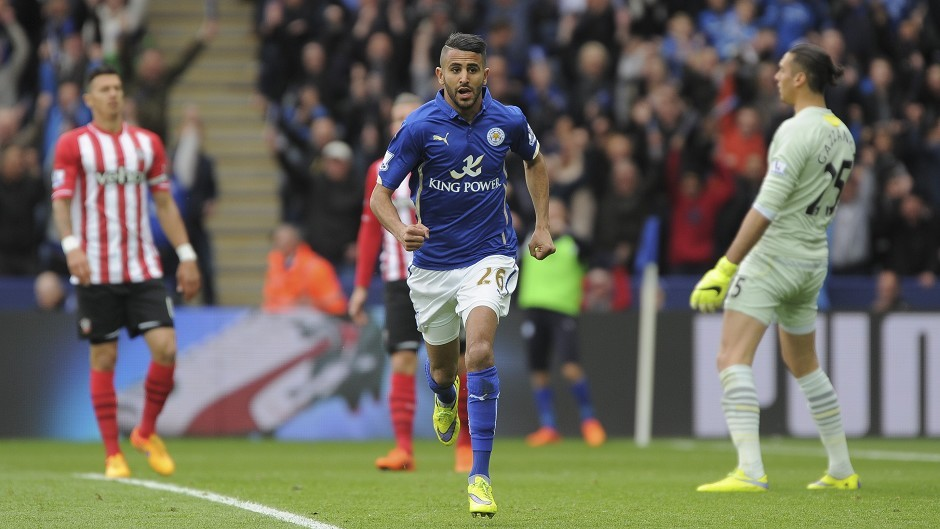 Riyad Mahrez has been in fine form for Leicester