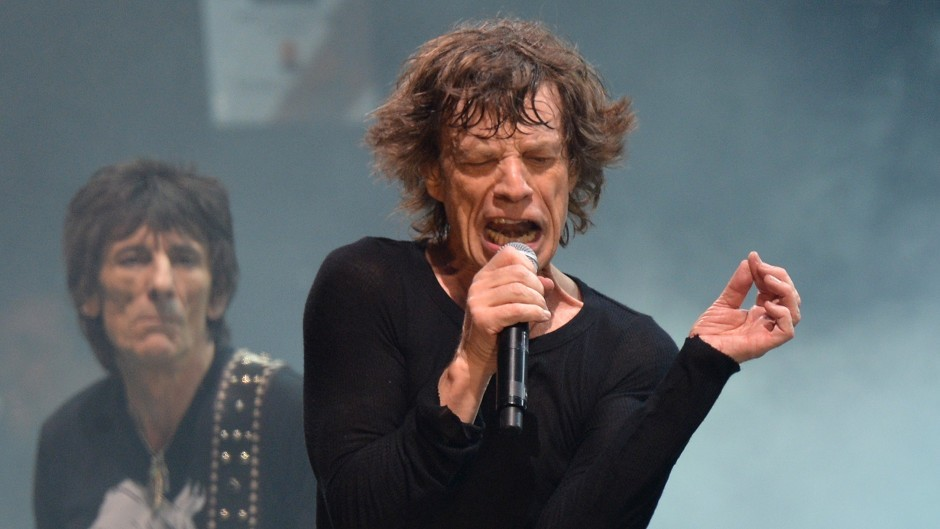 Sir Mick Jagger (right) and Ronnie Wood