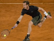 Andy Murray is through to the third round after a late-night finish in Madrid (AP)
