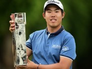 Korea's Byeong Hun An is the first Asian to win the BMW PGA Championship
