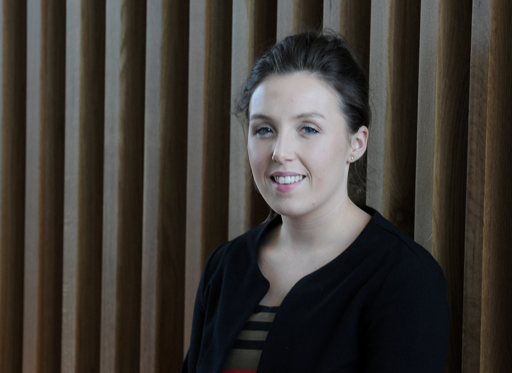 Rebecca Beadie at AKER Solutions, Dyce, Aberdeen.
