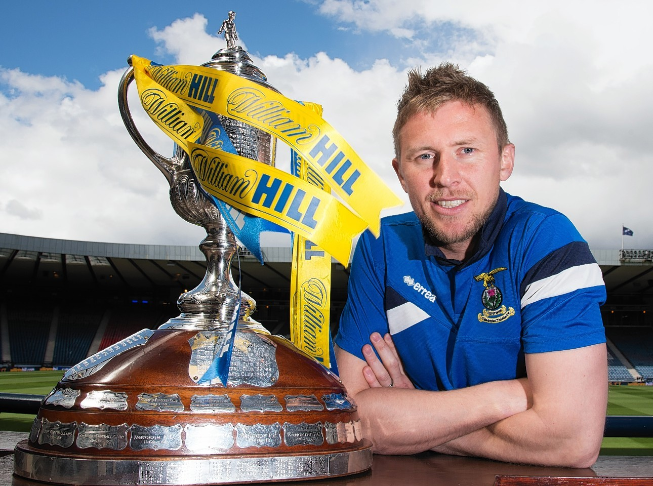 Richie Foran has taken his first steps into management with Caley Thistle.