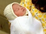 The newly born Princess of Cambridge