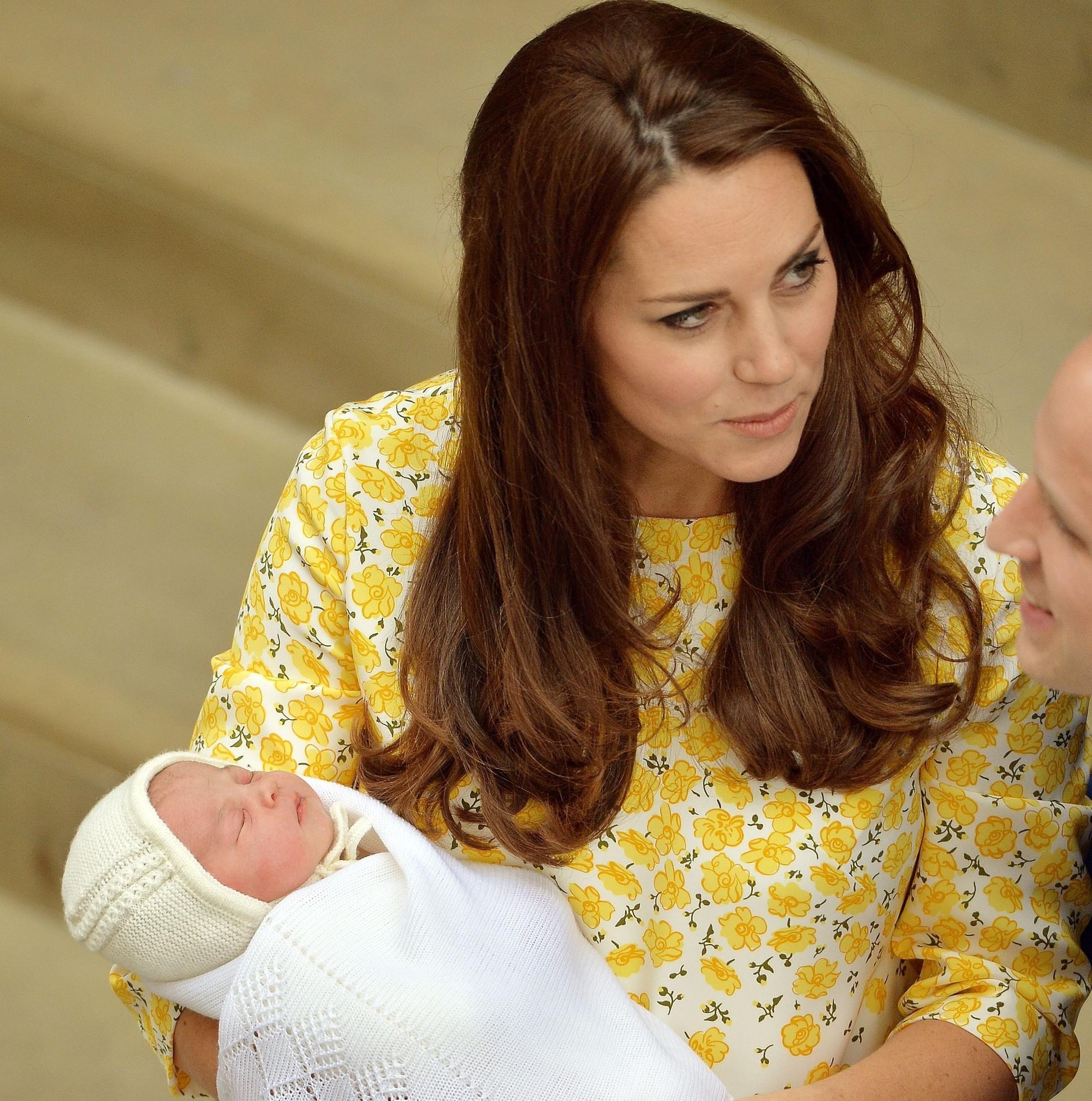 Royal Baby Named As Charlotte Elizabeth Diana