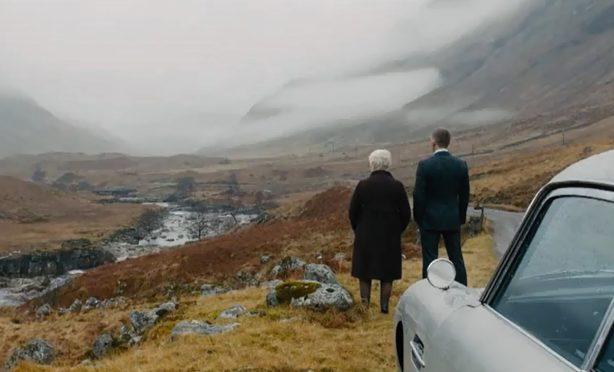 The moorland was filmed for the Bond film Skyfall.