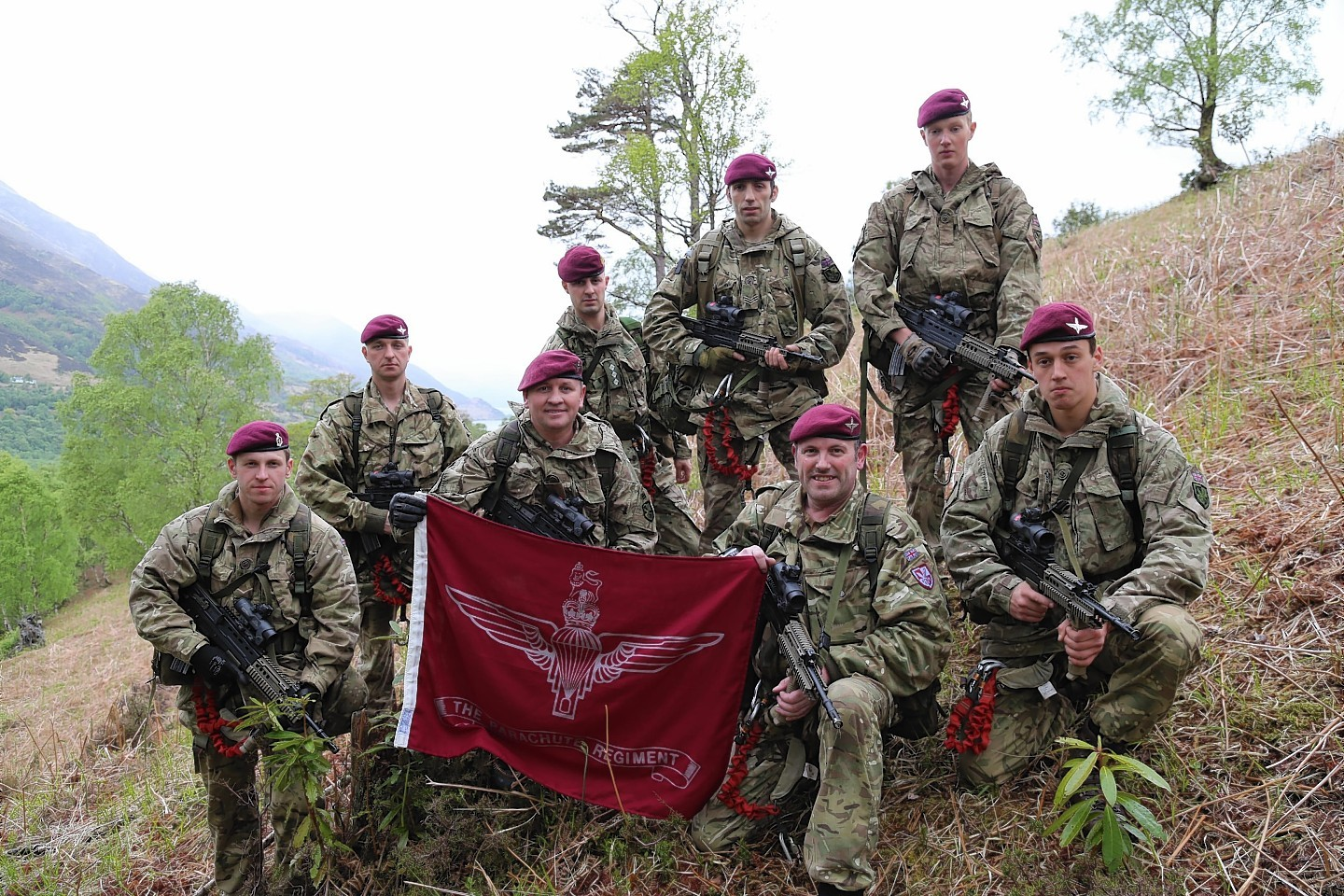 Troops conquer Highland VE Day challenge   Press and Journal