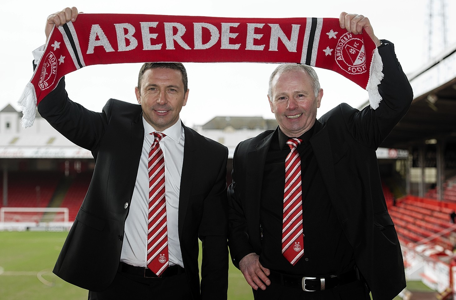 Mine has been pleased with the progress made under Derek McInnes