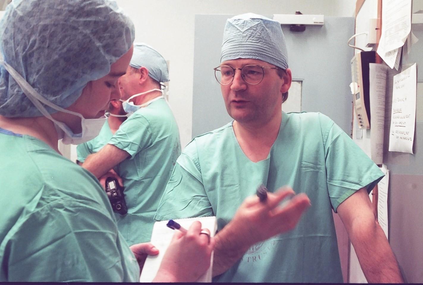 Surgeon Zygmunt Krukowski