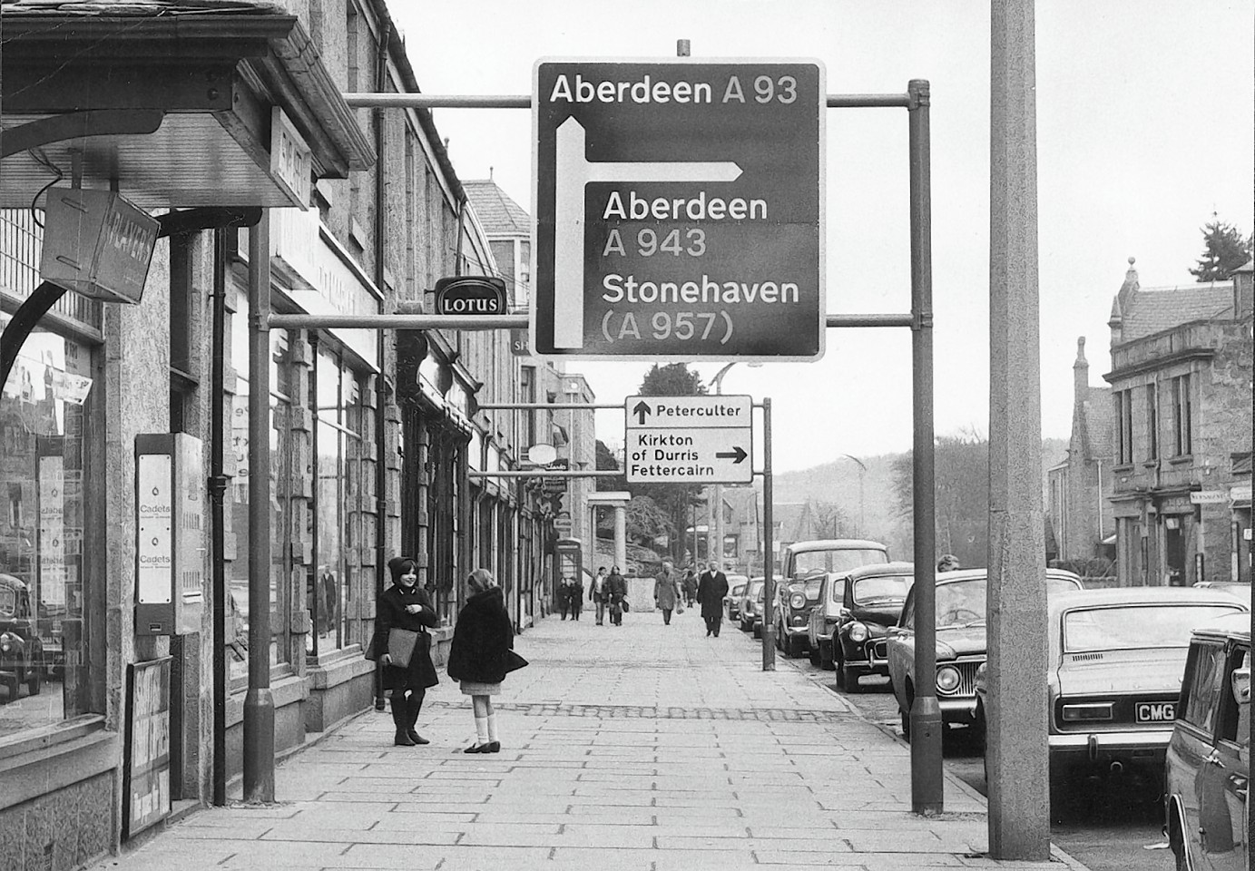 Image result for Stonehaven high street 1970