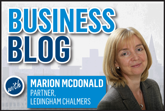 The business blog with Marion McDonald
