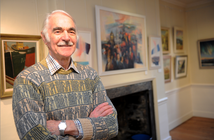 Signed prints from the renowned artist will go under the hammer for charity