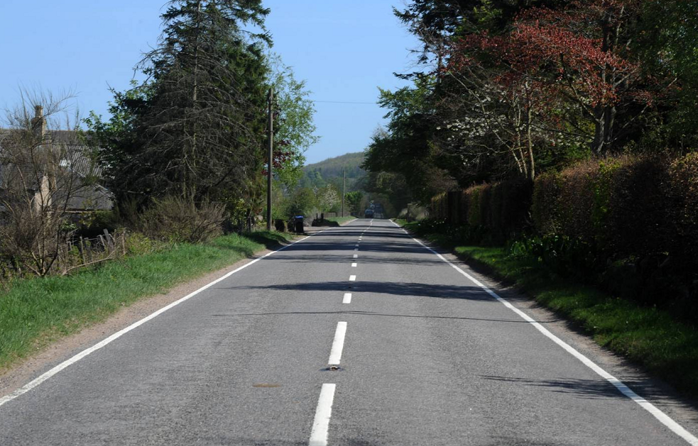 South Deeside Road, in Aberdeenshire