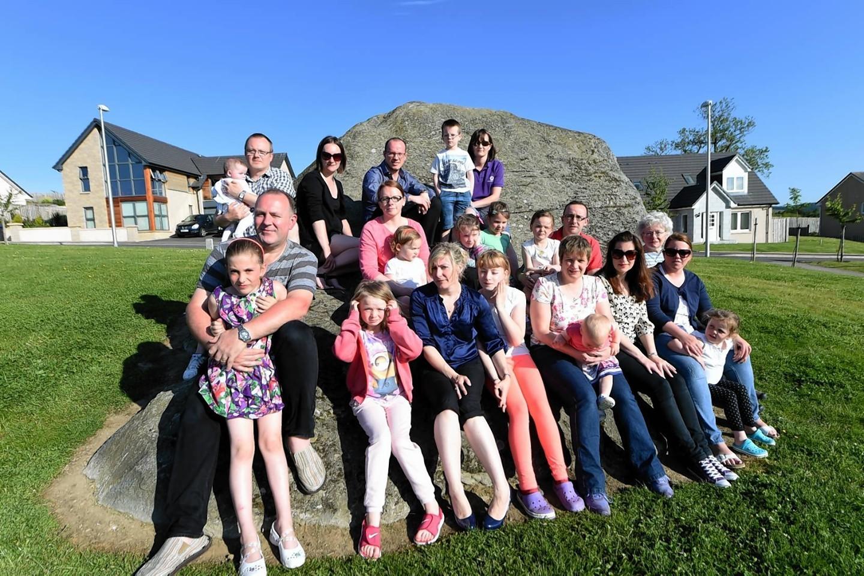Residents of Bogbeth, Kemnay