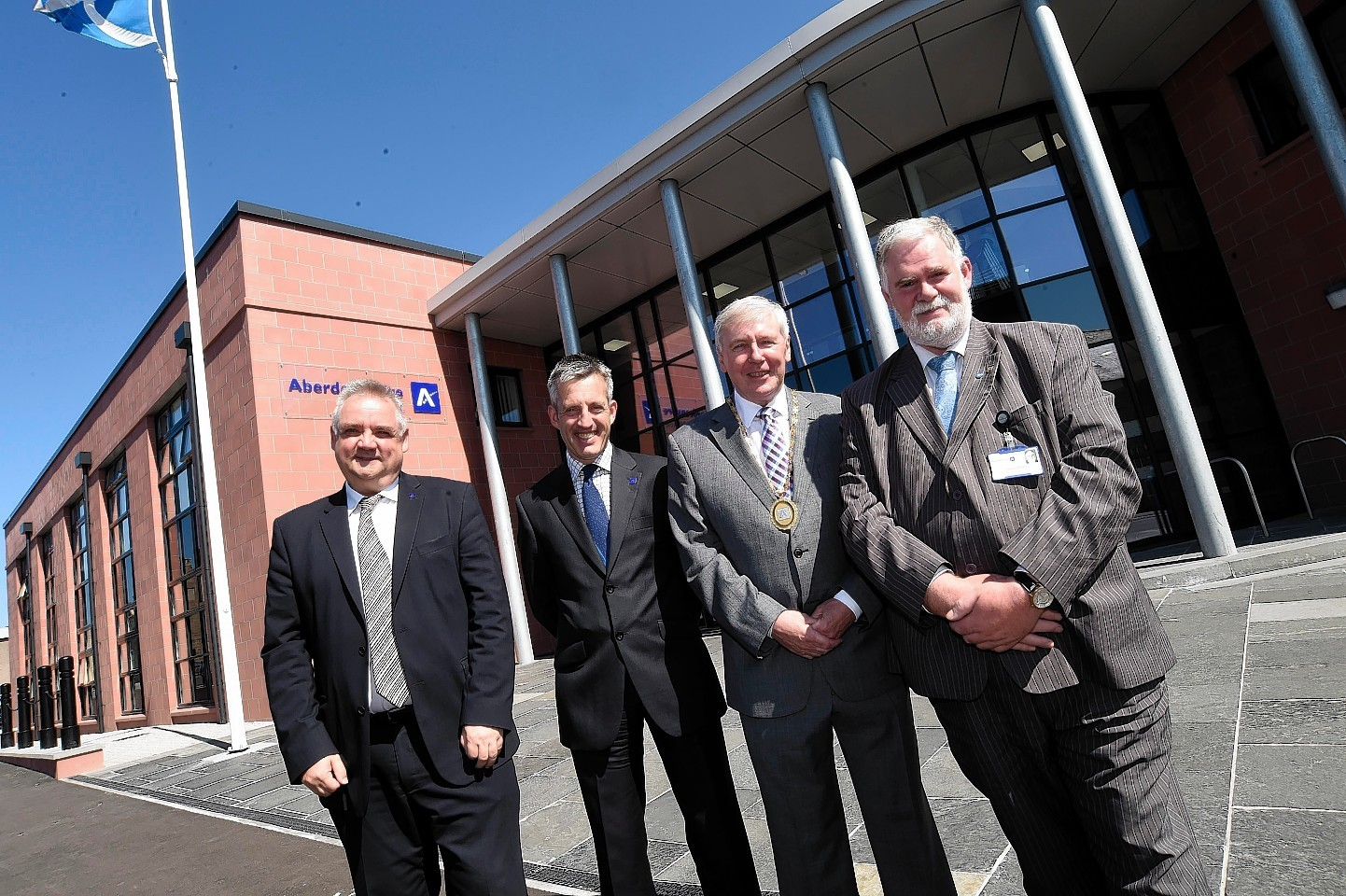 Buchan House was officially opened yesterday